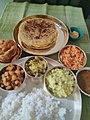 Ugadi special lunch. Karnataka special.jpg