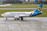 Ukraine International Airlines, UR-GAS, Boeing 737-528 (31419312965).jpg