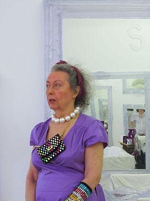 Isabelle Collin Dufresne - Isabelle Collin Dufresne in her New York City studio (2012)