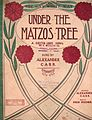 Under the Matzos Tree 19O7.jpg