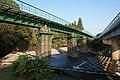 Under view of Karatsu Line Chogiri Bridge and the weir.jpg