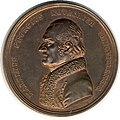 Ungarn Bronzemedaille 1813 Martin Kovachich (Kopfseite).jpg