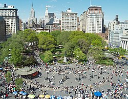 Sul da Union Square.