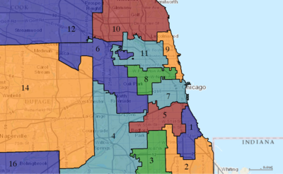 United States Congressional Districts in Illinois (metro highlight), 1973 – 1982.tif
