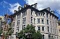 Université McGill, Macdonald-Harrington, 815, rue Sherbrooke Ouest, Montréal vue d'ensemble, façade et côté droit, pierre 11-d.na.civile-91-580.jpg