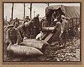 Unloading 15 inch Howitzer shells (2866739785).jpg