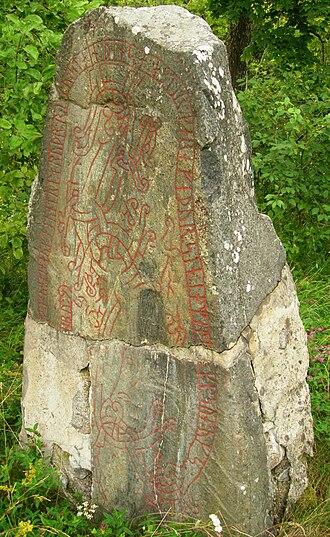 Tierp - Gillberga runestone.