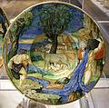 Urbino, francesco xanto avelli, scodella con romolo e remo, 1533.JPG
