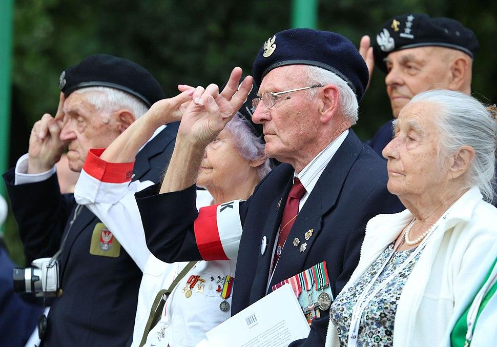 Uroczystości 70. rocznicy wybuchu powstania warszawskiego Kancelaria Senatu 01