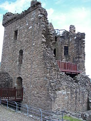 Urquhart Castle Tower House 3.jpg