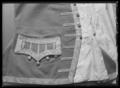 Väst till Gustav IIIs franska jaktdräkt använd vid den första hovjakten i Versailles 1771-05-15 - Livrustkammaren - 36188.tif