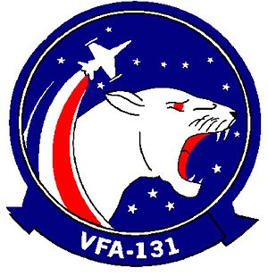 Carrier Air Wing Three - Image: VFA 131 insignia