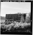 VIEW OF LARGE TIMBER FRAMED HOPPER, LOOKING NORTHWEST - Jones Mine, Scofield, Carbon County, UT HAER UTAH,4-SCOF,1-14.tif
