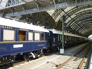 Venice-Simplon Orient Express - Venice Simplon-Orient-Express at Dresden station