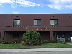 Vienna, West Virginia - City building.