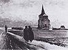 Van Gogh - Der alte Friedhofsturm in Nuenen mit drei Figuren.jpeg