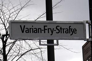 Varian Fry - Varian Fry street in Berlin
