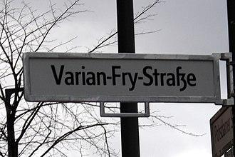 Varian Fry - Varian Fry Street, Berlin