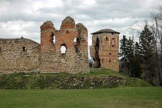 Võru County - Image: Vastseliina Castle 01