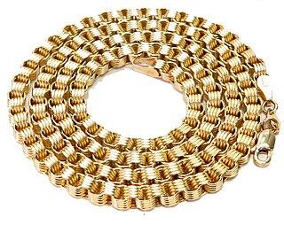 Manin gold chain
