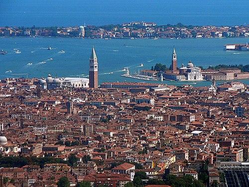 Venezia veduta aerea
