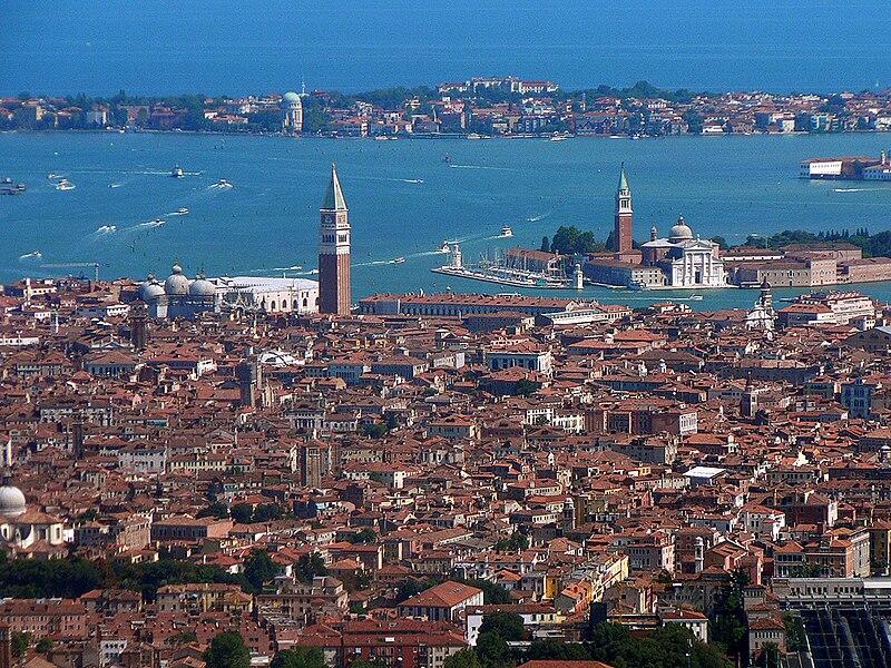 Vue d'ensemble de Venise par Oliver-Bonjoch