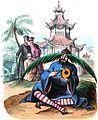 Vermorcken. Bonzes chinois. Auguste Wahlen. Moeurs, usages et costumes de tous les peuples du monde. 1843.jpg