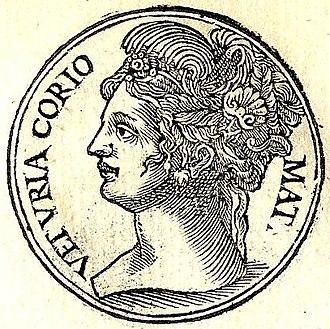 Veturia - Veturia from Promptuarii Iconum Insigniorum