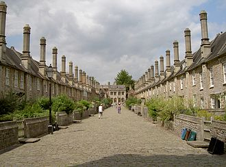 Terraced house - Vicars' Close, Wells 1348-1430