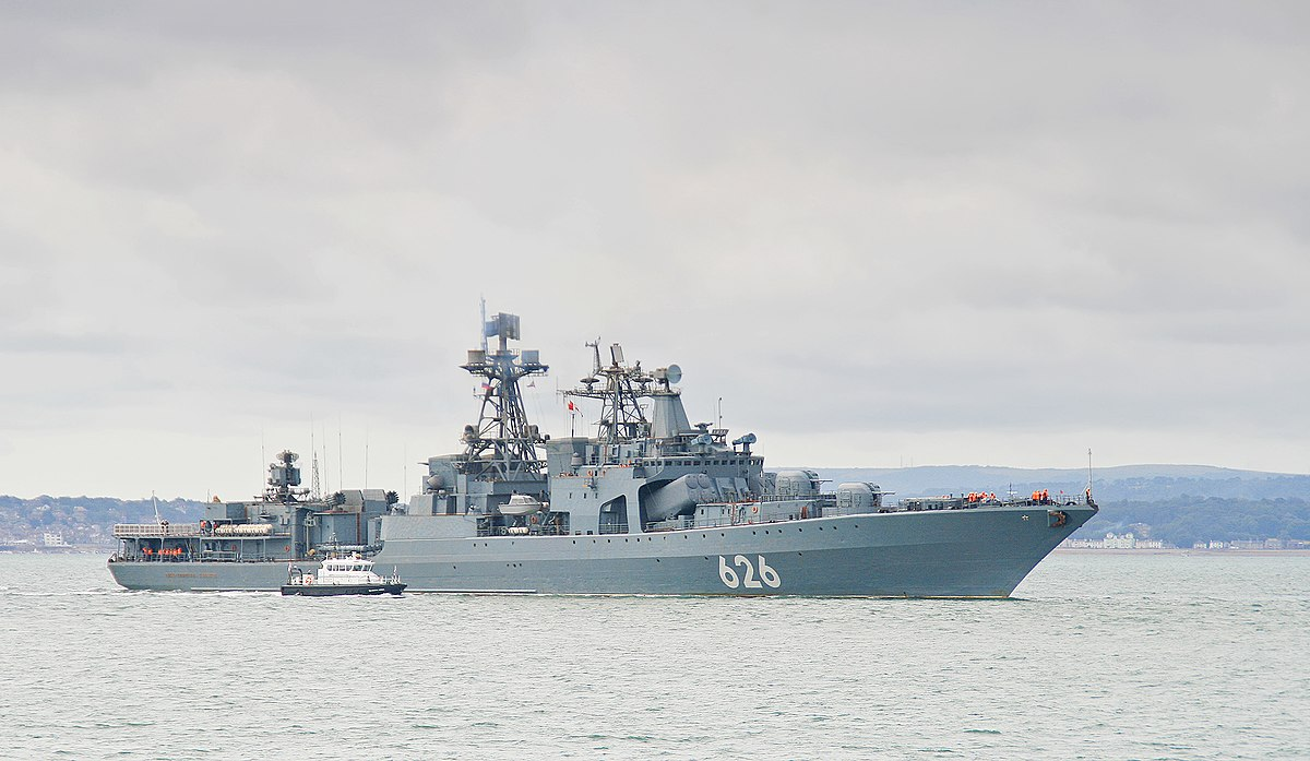 Russian Destroyer Vice Admiral Kulakov Wikipedia