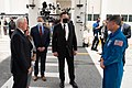 Vice President Pence at the Kennedy Space Center (49945667483).jpg
