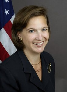 Former Assistant Secretary of State for European Affairs Victoria Nuland, who pushed for the Ukra