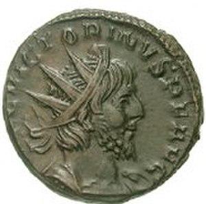 Victorinus - Ancient coin featuring Victorinus.