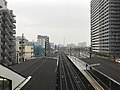 View from overpass of Shirasagi Station (west).jpg