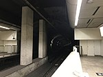 View from platform of Fujisaki Station (Fukuoka Municipal Subway).jpg