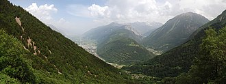 Martigny - Panoramic of Martingy