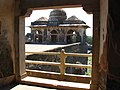 View of domes Jahaj mahal Mandu.jpg