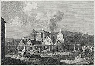 View of iron works, Blaeavon