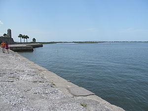 Matanzas Bay - View of the Matanzas Bay from the Castillo de San Marcos