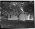 View south, north (side) elevation - Blakeslee House, 1211 Barnes Road, Wallingford, New Haven County, CT HABS CONN,5-WALF,7-3.tif