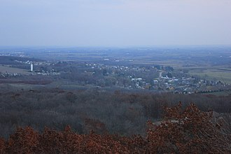 Blue Mound State Park - Image: Viewfromeasttower