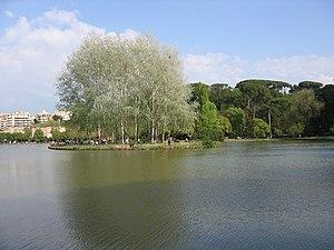 Villa Ada - Isle in Villa Ada's lake.