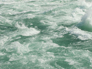 Rapids - Violent water below Niagara Falls