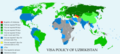 Visa policy of Uzbekistan.png