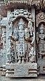 Vishnu carved on the chennakeshava temple, somanathapura.jpg