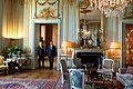 Visiting the Royal Palace with King Carl XVI Gustaf in Stockholm, Sweden, September 5, 2013.jpg