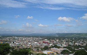 Poza Rica - View over Poza Rica