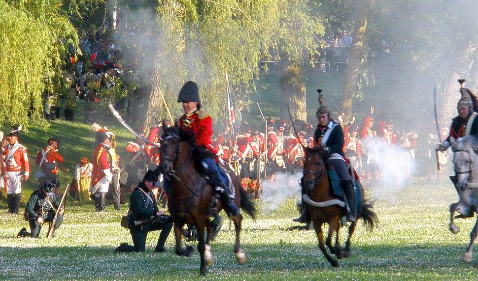 Vitoria - Recreación histórica de la Batalla de Vitoria, bicentenario 1813-2013 009