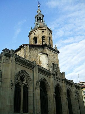 Church of San Pedro Apóstol (Vitoria) - Image: Vitoria San Pedro 71