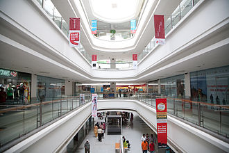 Jalandhar - Interior of Viva Collage Mall, Jalandhar